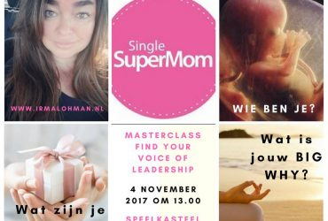 The Voice of Leadership spreekt op tof Single SuperMom Event