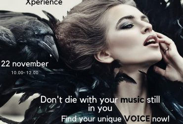 Verander door transformatie. Xperience de Masterclass; Don't die with your music still in you. Find your Voice!
